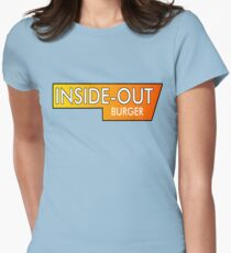 Inside Out Burger Womens Fitted T-Shirt