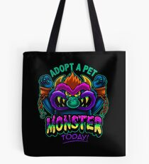 Adopt a Pet Monster Tote Bag