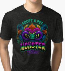 Adopt a Pet Monster Tri-blend T-Shirt