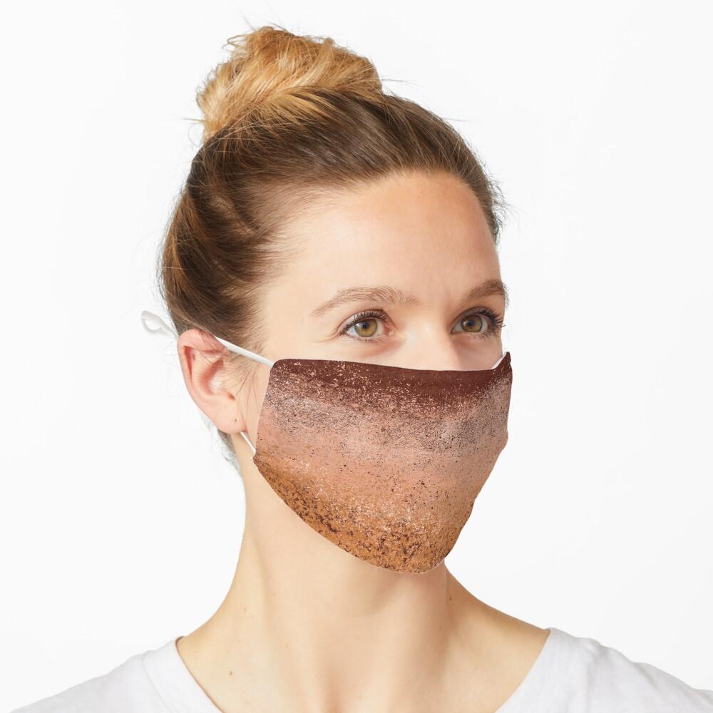 Warm Neutral Boho Terracotta Mask