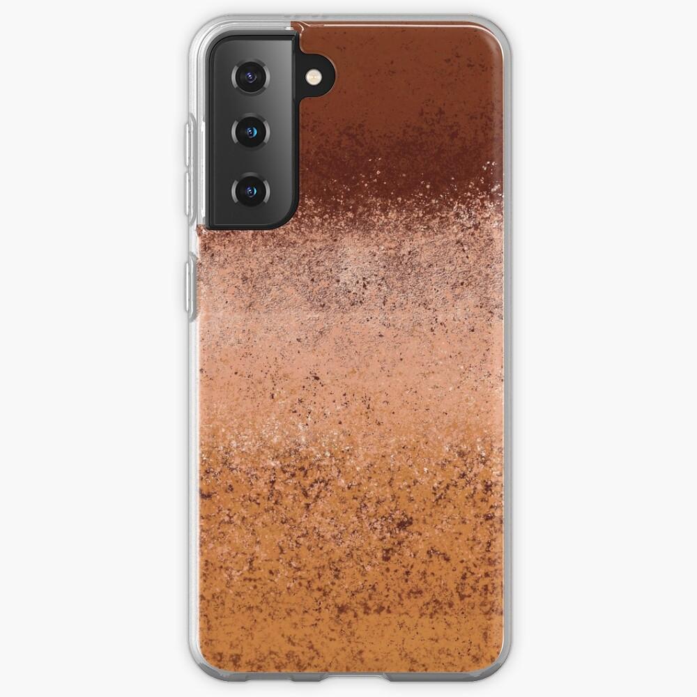 Warm Neutral Boho Terracotta Case & Skin for Samsung Galaxy