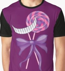 Cheshire Cat Lollipop Graphic T-Shirt