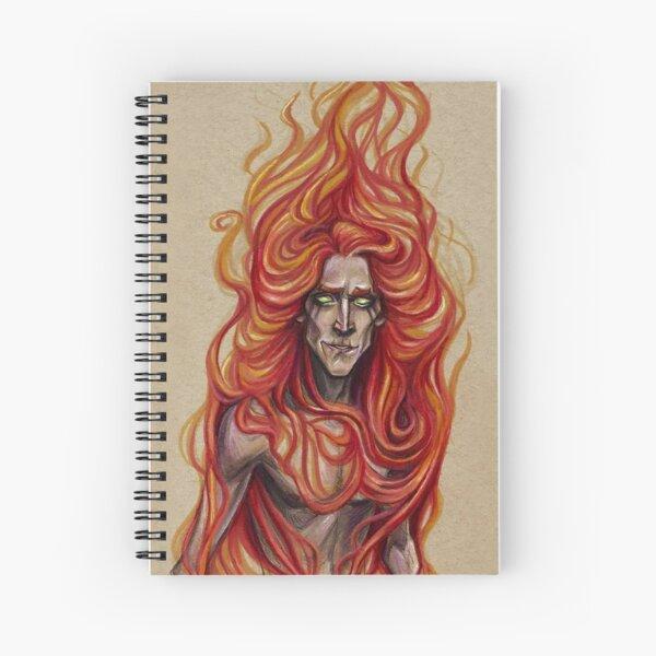 Bringer of Fire Spiral Notebook