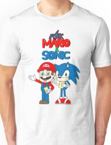 Ask Mario and Sonic Unisex T-Shirt
