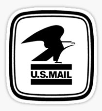 US Mail Eagle Sticker