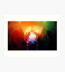 """""""Peace even in the storm"""" Art Print"""