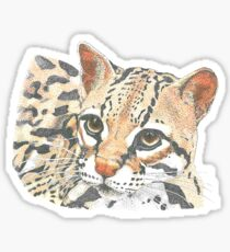Ocelot Sticker
