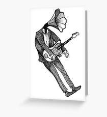 JazzMaster Greeting Card