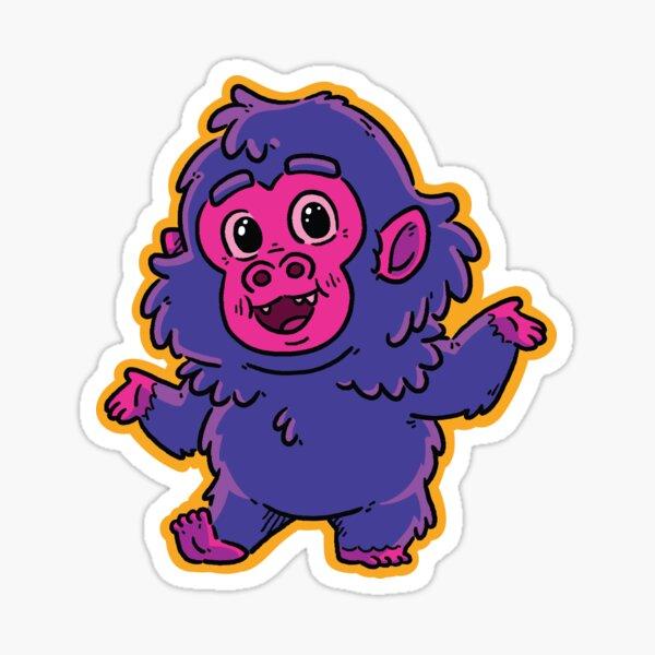 Franky the Bigfoot - #01 Sticker