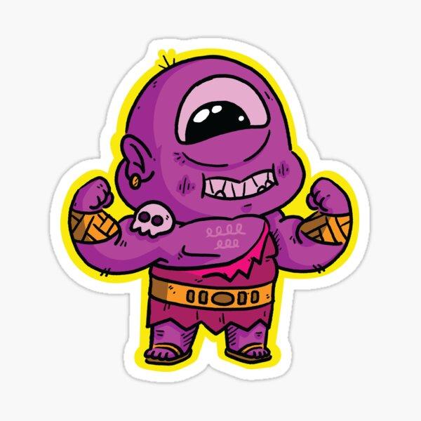 Chonk the Cyclops - #01 Sticker