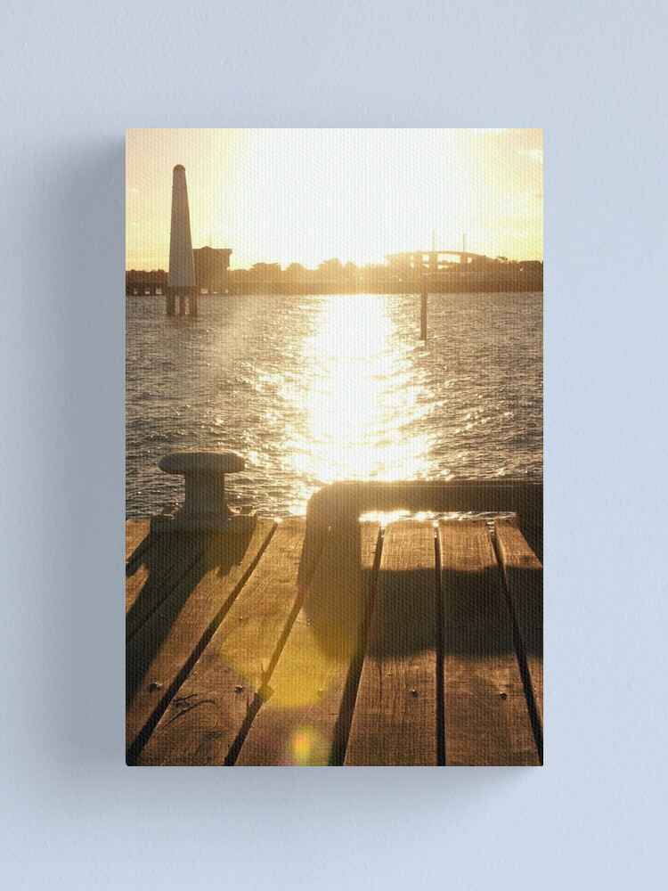 Alternate view of Station Pier Canvas Print