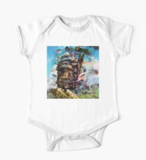 howl's moving castle One Piece - Short Sleeve