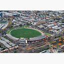 Victoria Park Collingwood Football Stadium Poster By Nilsversemann Redbubble