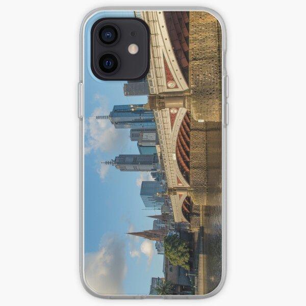 Princes Bridge in Melbourne, Australia iPhone Soft Case