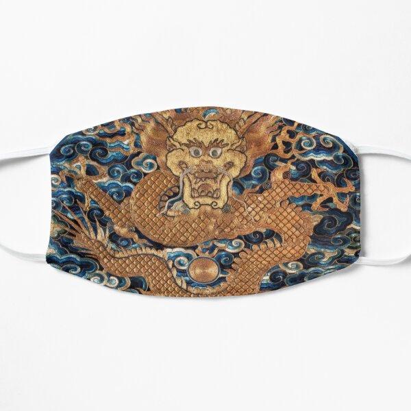 Vintage chinese dragon Flat Mask