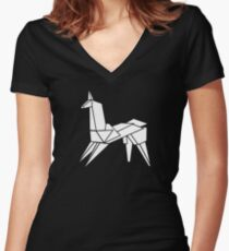 """""""It's too bad she won't live! But then again, who does?"""" Women's Fitted V-Neck T-Shirt"""