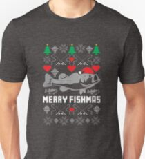 Merry Fishmas Unisex T-Shirt