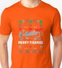 Merry Fishmas Unisex T-Shirt