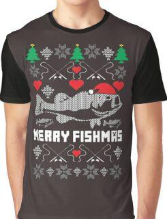 Merry Fishmas Graphic T-Shirt