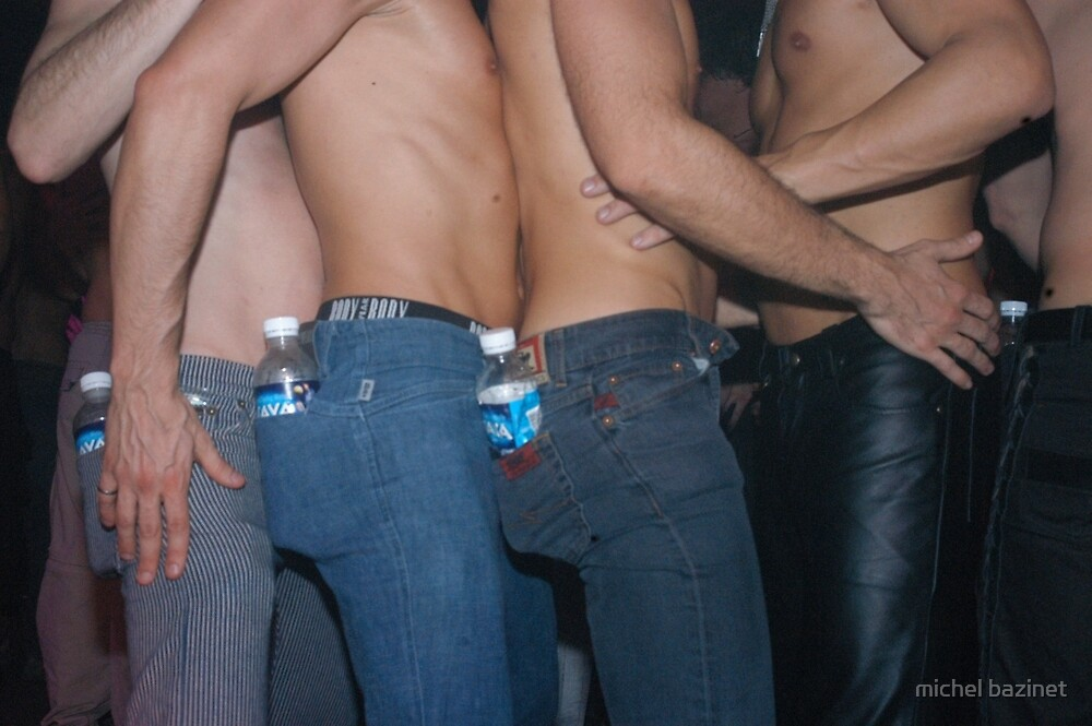 Sexy Gay Ravers by michel bazinet