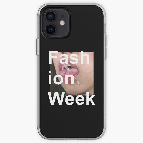 Fashion Week - Death Grips iPhone Soft Case