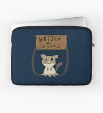 Mimikyu - Notice me senpai Laptop Sleeve