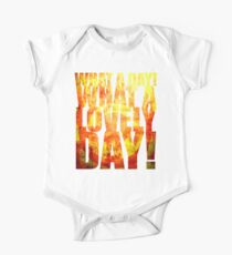What A Lovely Day! One Piece - Short Sleeve