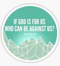 God Is For Us Sticker