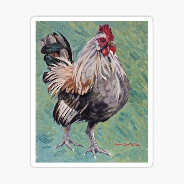 Haughty. Oil on canvas 50x40cm 2012Ⓒ  Sticker