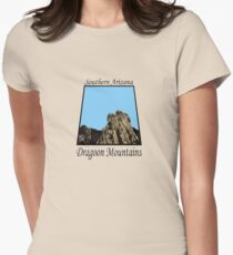 The Hand of God Bluff * Womens Fitted T-Shirt