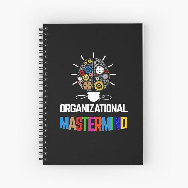 Organizational mastermind Spiral Notebook