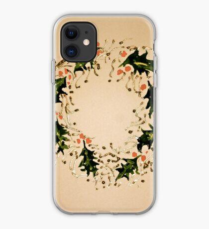 Xmas wreath iPhone Case