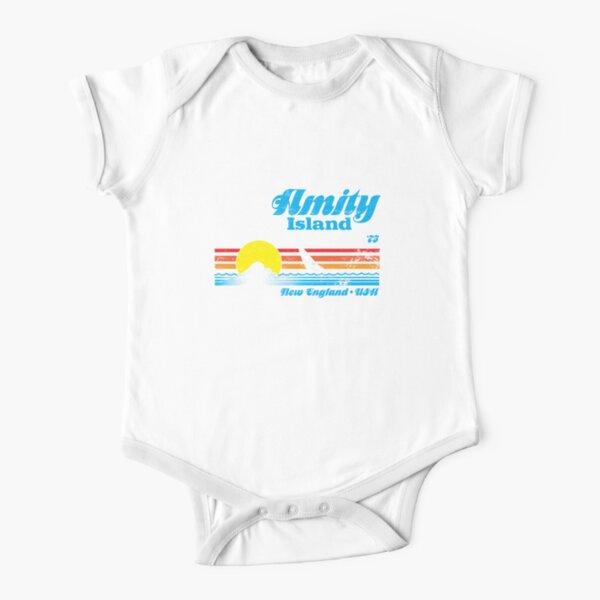 Amity Island Short Sleeve Baby One-Piece
