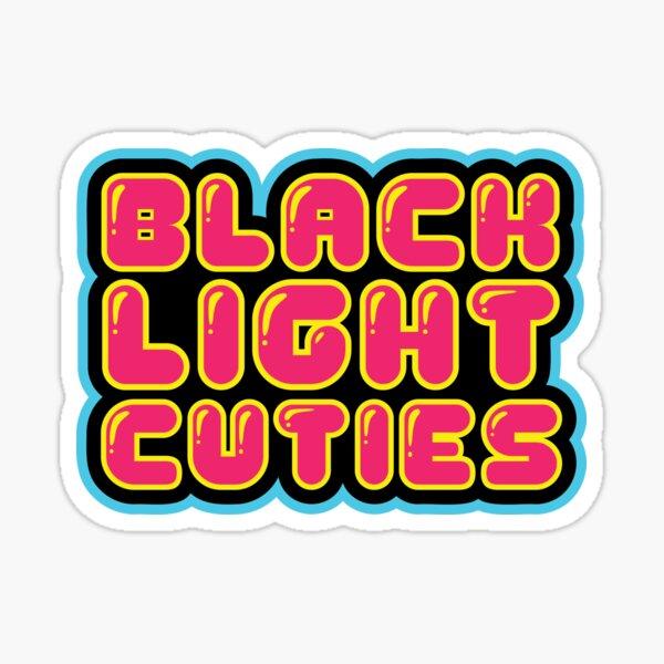 Black Light Cuties Logo - #01 Sticker