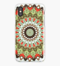 Green & Red iPhone Case