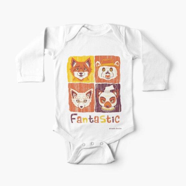 Fantastic Mr. Fox Long Sleeve Baby One-Piece