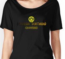 Borussia Dortmund F.C Women's Relaxed Fit T-Shirt