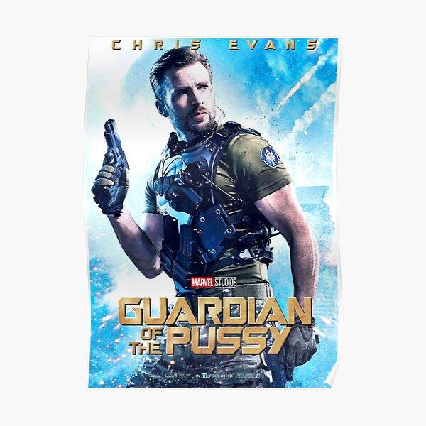 chris guardian cat Poster