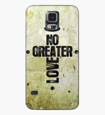 No Greater Love Case/Skin for Samsung Galaxy