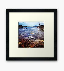 Rock pools, of Central Queensland  Framed Print
