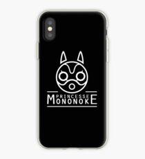 Princess Mononoke white iPhone Case