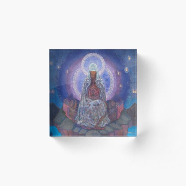Nicholas Roerich - Mother of the World Acrylic Block