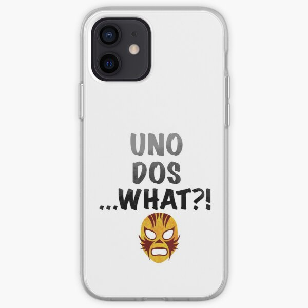 Uno, dos, what?! iPhone Soft Case