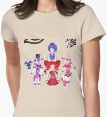 FNAF Sister Location Gang Womens Fitted T-Shirt