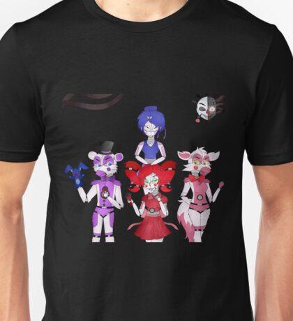 FNAF Sister Location Gang Unisex T-Shirt