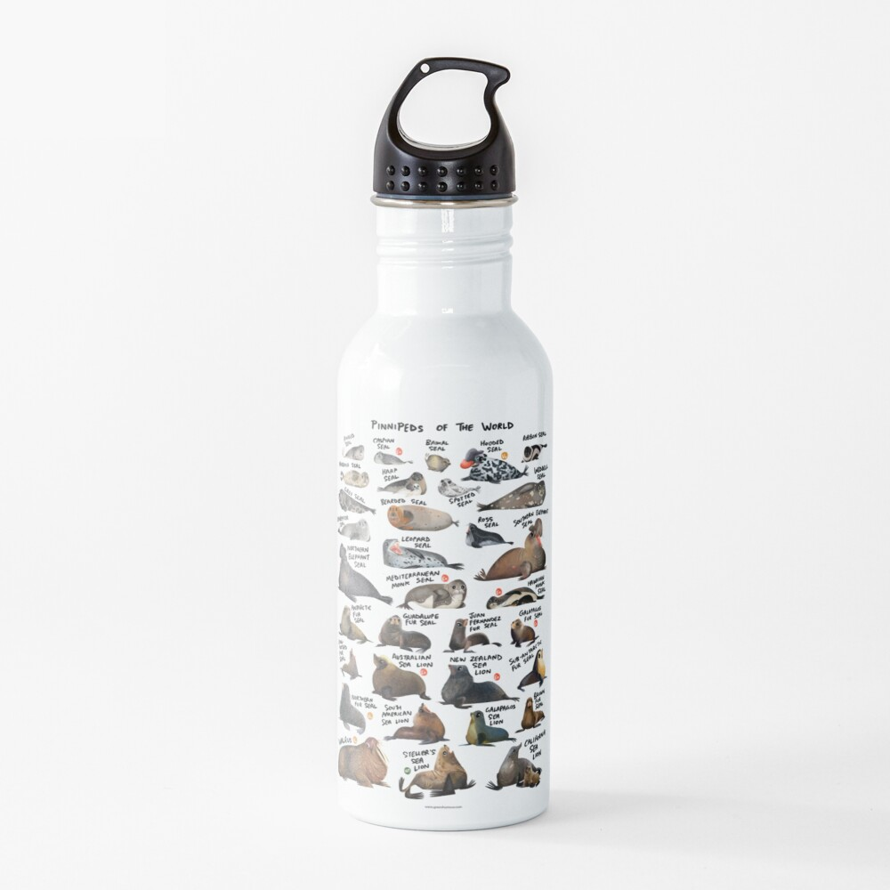 Pinnipeds of the World Water Bottle