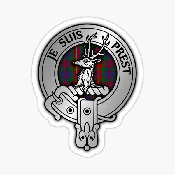 Clan Fraser of Lovat Crest & Tartan Sticker