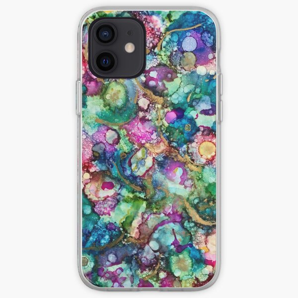 """""""A coral reef"""" iPhone Soft Case"""