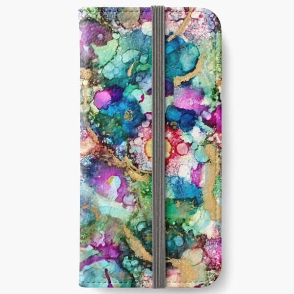 """""""A coral reef"""" iPhone Wallet"""