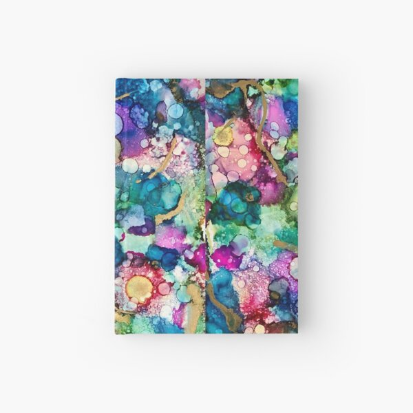 """""""A coral reef"""" Hardcover Journal"""